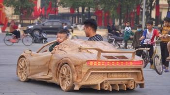 Siêu xe Bugatti của thợ mộc Việt gây sốt báo Tây