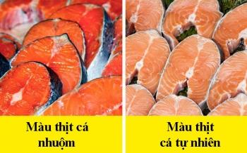 8 dấu hiệu nhận biết chọn mua cá tươi ngon: Cá hồi màu đẹp không hẳn đã tốt