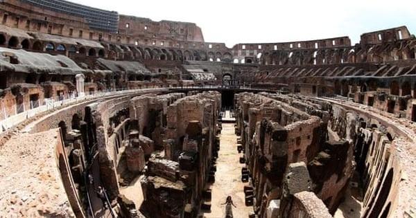 'Giải mật' toàn bộ đường hầm dưới đấu trường La Mã