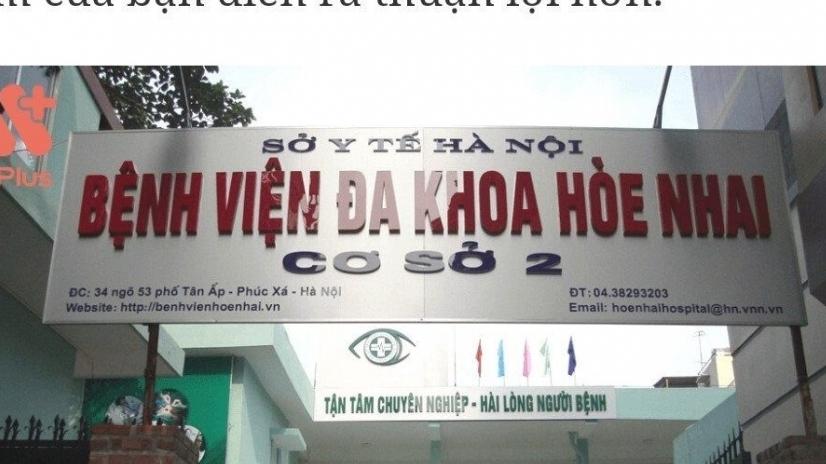 Bệnh viện Đa khoa Hòe Nhai: Triển khai dịch vụ IVF khi chưa được Sở Y tế Hà Nội chấp thuận