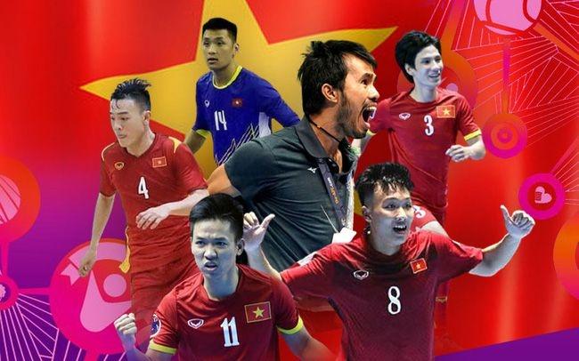 Lịch thi đấu futsal Việt Nam ở World Cup futsal 2021