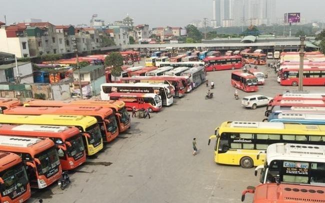 Xe khách Hà Nội được hoạt động bình thường trở lại