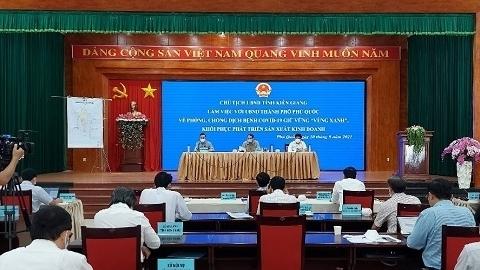 Chủ tịch UBND tỉnh Lâm Minh Thành: Phú Quốc chuẩn bị mọi điều kiện để thí điểm đón khách quốc tế vào cuối năm 2021