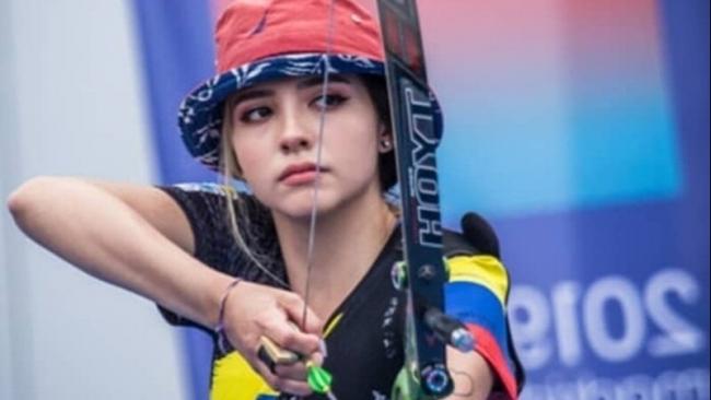 Vẻ đẹp hút hồn 'vạn người mê' của nữ cung thủ Colombia