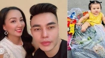 Lê Dương Bảo Lâm bị chỉ trích vì để con gái ngồi lên thực phẩm chụp ảnh