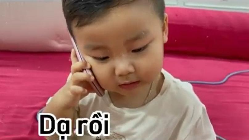 Con trai Hoà Minzy từ nhỏ đã ra dáng chủ tịch, sẵn sàng thừa kế cơ ngơi của bố