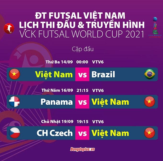 Nhận định futsal Việt Nam vs Brazil, 0h00 ngày 14/9: Ra ngõ gặp núi