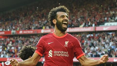 Salah cán mốc 100 bàn tại Premier League nhanh thứ 5 trong lịch sử
