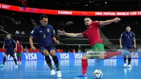 Bảng C Futsal World Cup 2021: Thái Lan suýt tạo bất ngờ trước Bồ Đào Nha