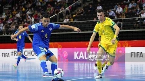 FIFA Futsal World Cup 2021: Kazakhstan và Nga giành vé vào vòng 1/8