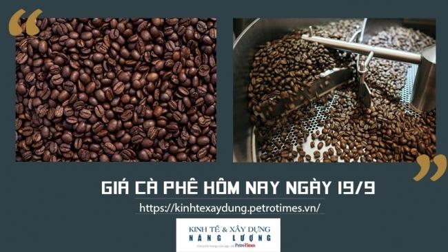 Giá cà phê hôm nay ngày 19/9: Nối tiếp đà tăng