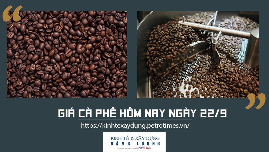 Giá cà phê hôm nay ngày 22/9: Giữ mức ổn định