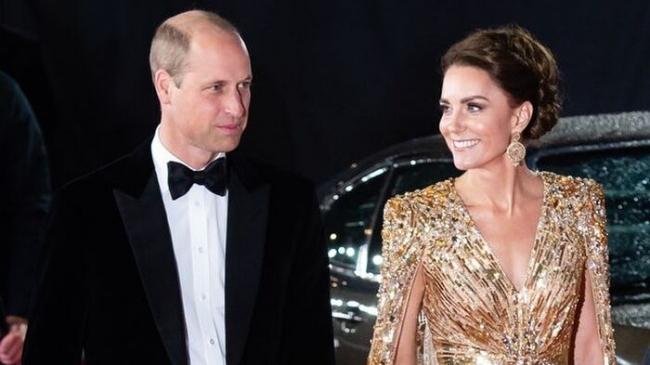 Kate gây chấn động với váy dát vàng vẫn lép vế tuyệt phẩm của mẹ chồng Diana