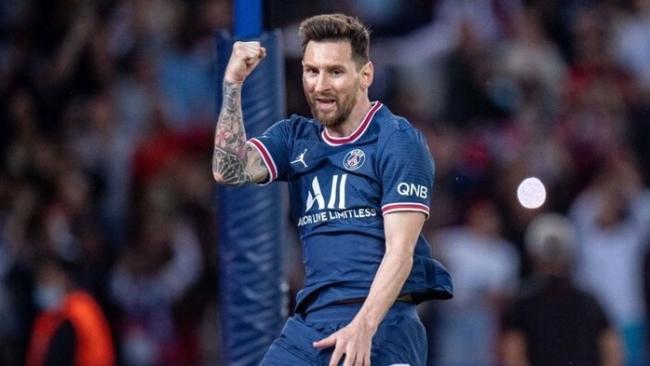 Messi lập cú đúp, giải cứu PSG ở Champions League