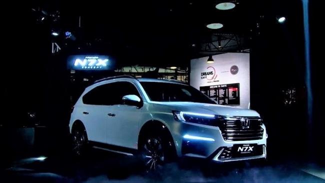 Honda N7X chuẩn bị ra mắt