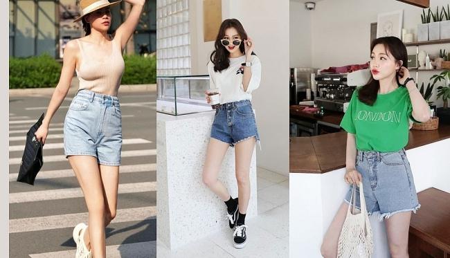 """Cứ mặc kiểu quần short jeans """"thị phi"""" này, chị em dễ mắc lỗi hớ hênh nơi công cộng"""