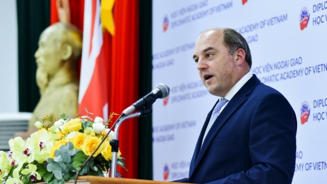 Bộ trưởng Quốc phòng Anh phát biểu về chiến lược 'Ngả về Ấn Độ Dương - Thái Bình Dương'