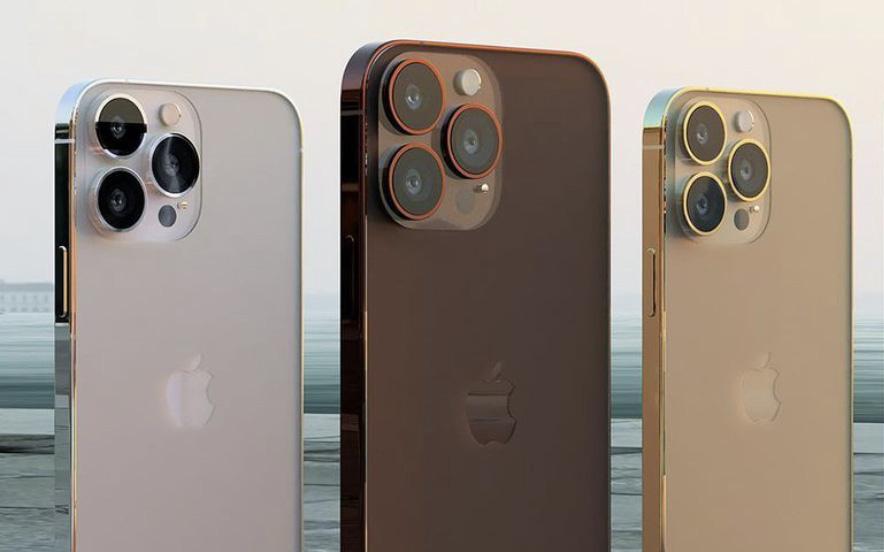 Ngắm concept iPhone 13 màu nâu đồng cực lạ mắt
