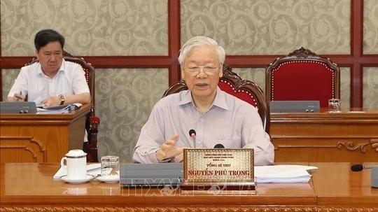 Ban Bí thư cảnh cáo Ban cán sự đảng UBND TP Hà Nội nhiệm kỳ 2016 - 2021