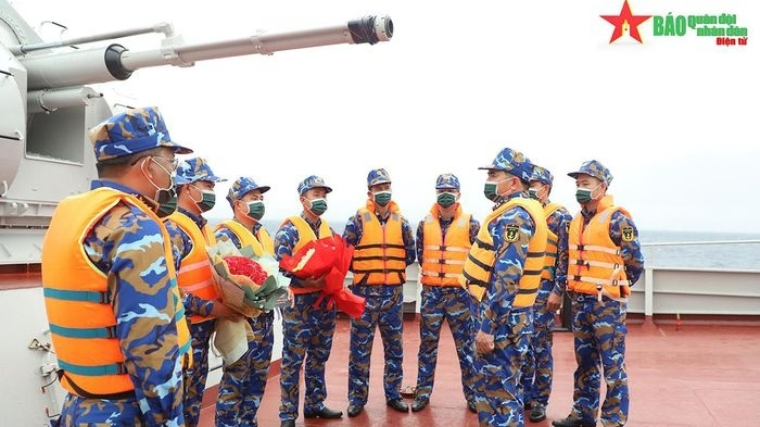 Vượt Nga, Trung Quốc, Đội tuyển Hải quân Việt Nam về nhất thi bắn pháo AK 176