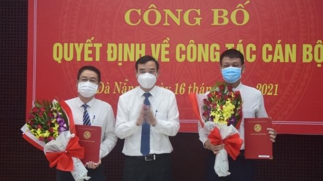 Đà Nẵng công bố các quyết định điều động nhân sự