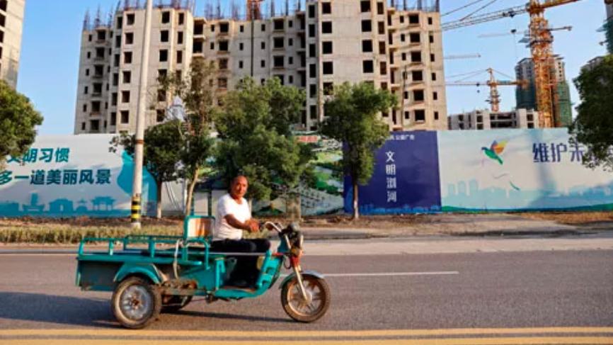 """""""Bom nợ"""" Evergrande đe dọa kinh tế Trung Quốc"""