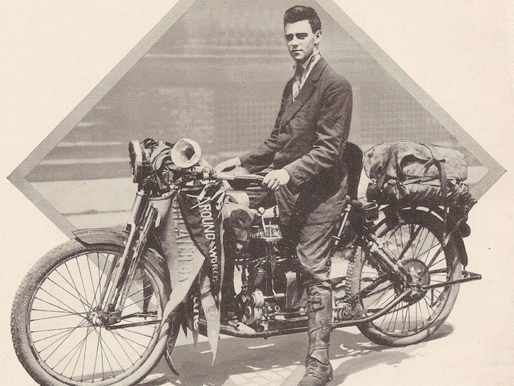 Carl Stearns Clancy, người đàn ông phong cách: Henderson đã được Carl Stearns Clancy tin cậy sử dụng đi vòng quanh thế giới vào năm 1912. Ảnh: thevintagent.com