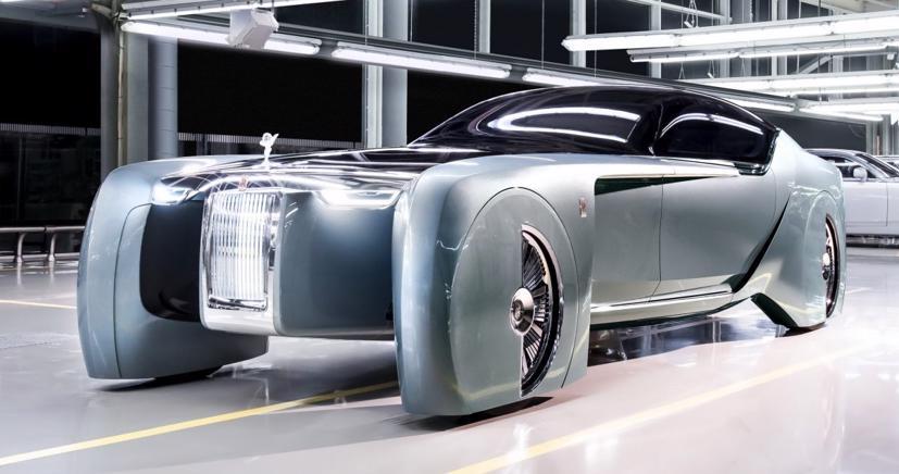 Lộ diện mẫu xe điện siêu sang