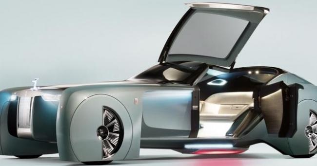 """Lộ diện mẫu xe điện siêu sang """"Silent Shadow"""" của Rolls-Royce"""