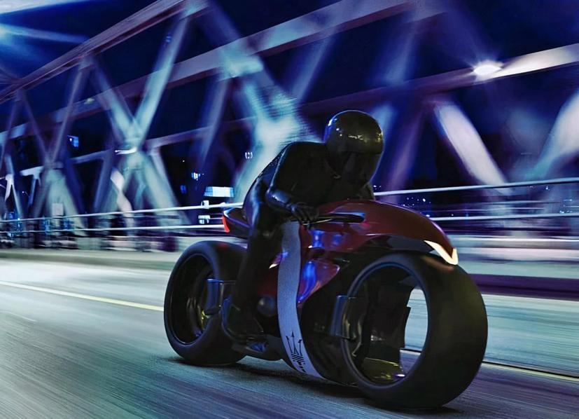 Ngắm Concept Motor điện đẹp không tưởng của Maserati