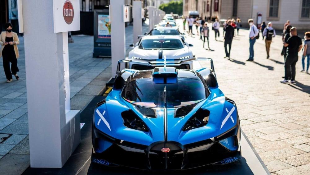 Siêu xe hypercar Bolide và Chiron Super Sport xuất hiện tại Triển lãm Ôtô Milano Monza