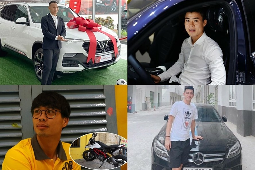 Soi xe mà cầu thủ tuyển Việt Nam hay dùng: Công Phượng đặc biệt nhất