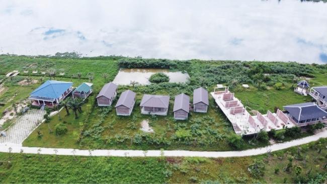 Dự án khu sản xuất nông nghiệp và dịch vụ sinh thái: Xây hàng loạt công trình không phép