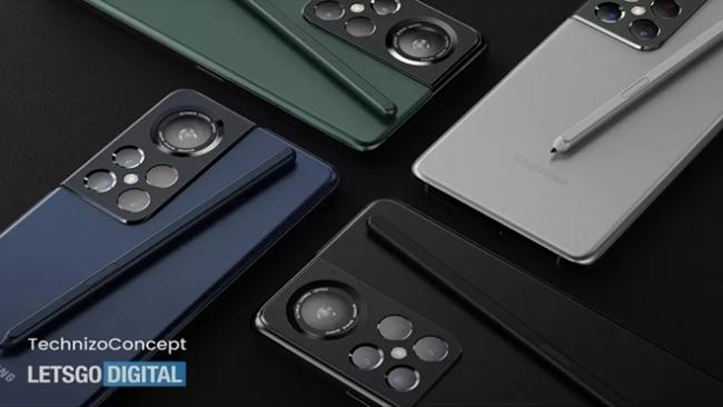 Lộ hình ảnh render vô cùng ấn tượng của Samsung Galaxy S22 Ultra