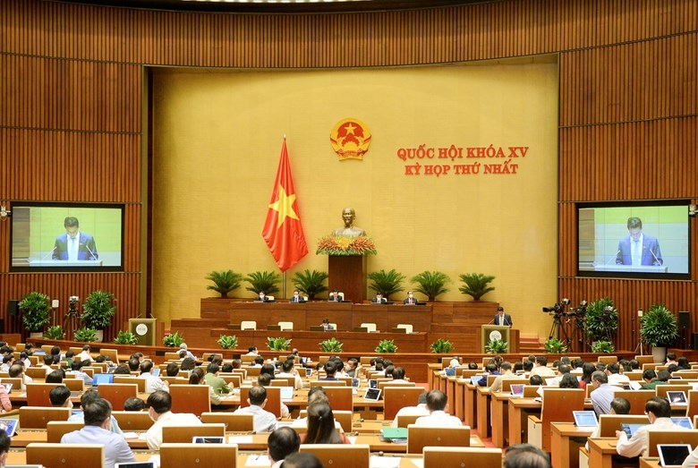 Đại biểu bầu Tổng thư ký và các Chủ nhiệm Ủy ban Quốc hội
