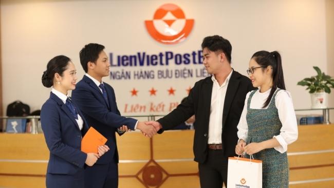 LienVietPostBank chốt danh sách trả cố tức bằng cổ phiếu tỷ lệ 12%