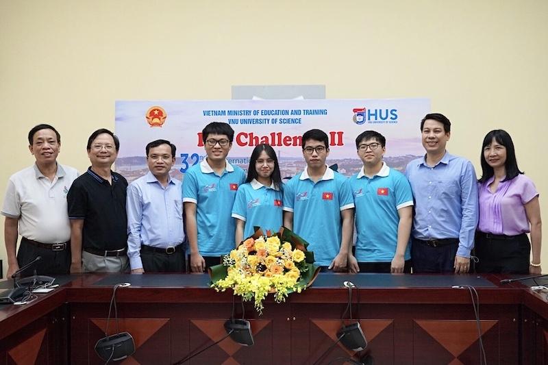 Học sinh Việt Nam đoạt 4 huy chương Olympic Sinh học quốc tế 2021
