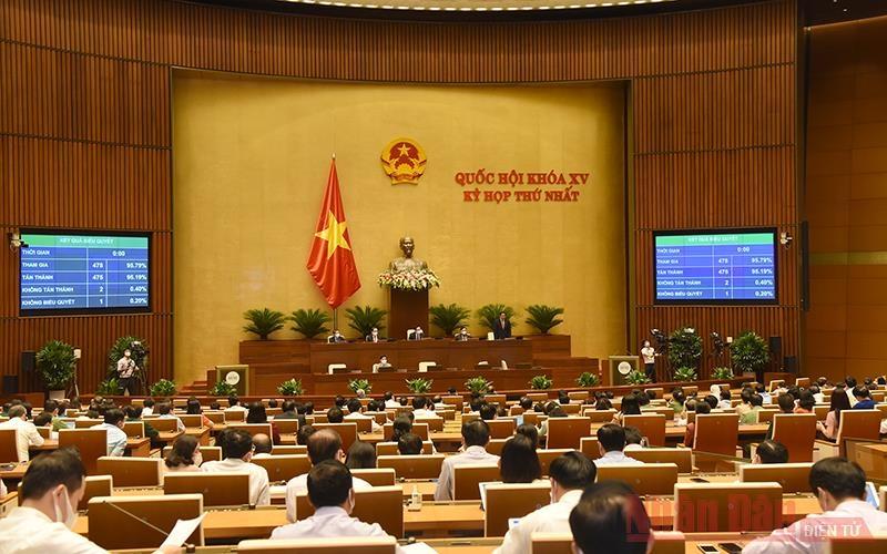 Thông qua Nghị quyết về Chương trình giám sát của Quốc hội năm 2022