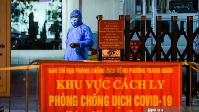 Phong tỏa khẩn cấp viện Phổi Hà Nội