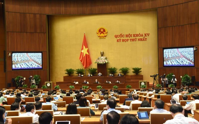 Thông cáo số 7 kỳ họp thứ nhất, Quốc hội khóa XV