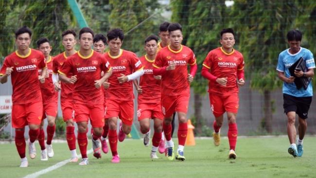 Đội tuyển U22 Việt Nam có danh sách tập trung 30 cầu thủ
