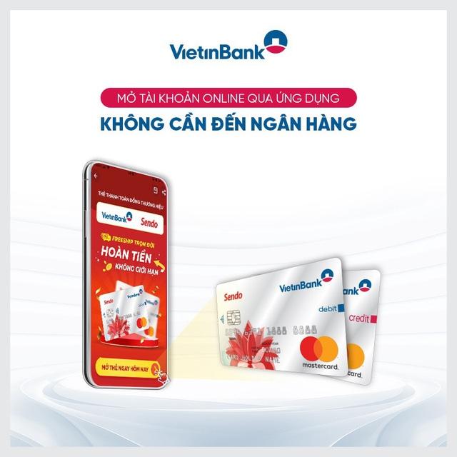 Tin nhanh ngân hàng ngày 13/9: Sendo và Vietinbank hé lộ thẻ thanh toán freeship trọn đời