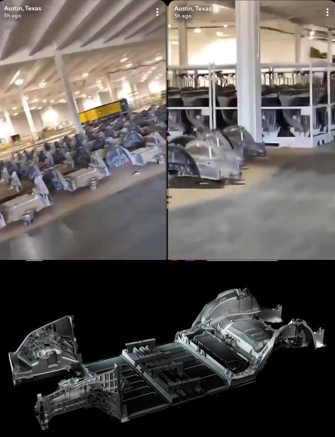 Rò rỉ clip trong nhà máy Tesla, cho thấy một cuộc cách mạng trong sản xuất ô tô đang bắt đầu