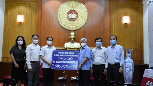 Cộng đồng người Việt Nam ở nước ngoài tiếp tục ủng hộ công tác phòng, chống dịch
