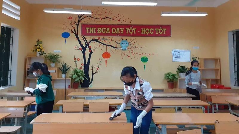 Chuẩn bị các điều kiện đón học sinh Hà Nội trở lại trường