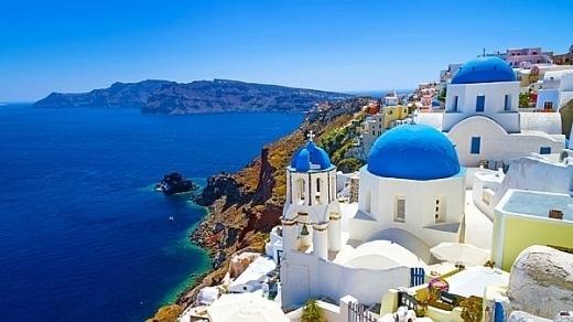 Đảo Santorini - thiên đường giữa cơn khủng hoảng ở Hy Lạp
