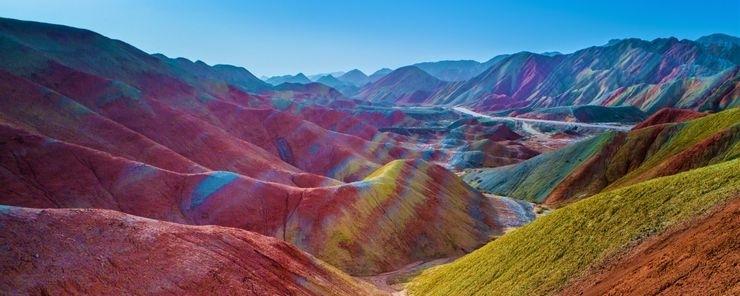 Những ngọn núi nhiều màu sắc nhất trên thế giới