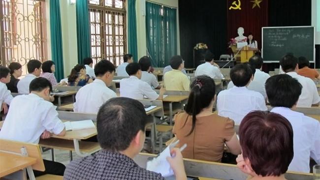 Trường Chính trị tỉnh Yên Bái phấn đấu xây dựng đạt chuẩn